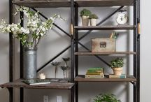 Wall unit display ideas