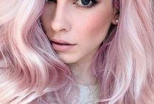 Hair Colours (Pastel Colors)
