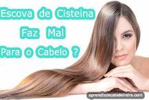 estudos dos cabelos