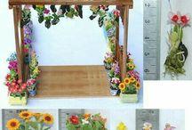 miniature/ fairy garden materials