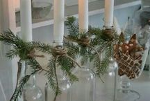 Christmas dekorationer / Den søde juletid