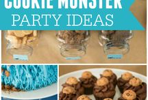 Cookie Monster birthday ideas