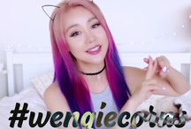 wengie / my favourite you tuber