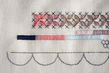 • sew sew • / Crochet, embroidery, cross-stitch, sewing... any crafting involving fabric, needles and thread.