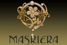MASRIERA - Catalan Art Nouveau jewelry / Луис Масриера и Росес (Luis Masriera y Roses, 1872-1958)