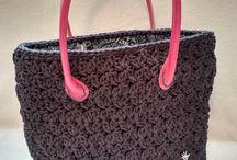 Crochet bag, Handmade BarunKa-facebook / crochet bag, Háčkováné tašky a kabelky