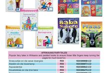 Acornkids Books - English and Afrikaans. / A selection of English books - Various Fairytales - books with and without flaps to keep kids entertained for ages!