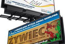 DTP duże / - mesh - witryna/szyld - billboard/banner - rollup