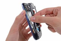Sustitución del marco interior plástico del Samsung Galaxy S3 / Para sustituir el marco interior de plástico, hay que seguir los pasos siguientes.