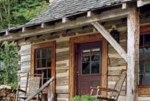 my parents cabin / by Mrs. Gore