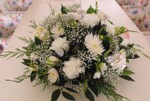 Rouwbloemwerk Marie-Fleurie Bloemenatelier / Voor een liefdevol afscheid
