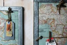 Crafts - Maps / Globes / Stamps / by Ginger Alumbaugh