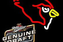 Miller MGD with NFL Neon Signs