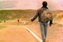 Автостоп / Вытащить себя из зоны комфорта. Сделать себя свободным, оставив за собой право выбора, стоять или двигаться, ехать или идти.  На дороге...