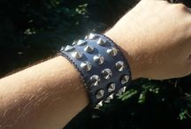 DIY / Handmade leather bracelet