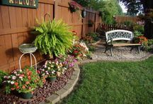 Ideas para jardines traseros - Ideas for backyards