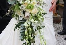 """Cascade"" and other style Wedding Bouquet"