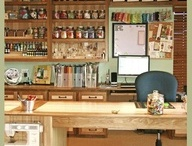 Craft room ideas / examples / by Lucille Kauffman
