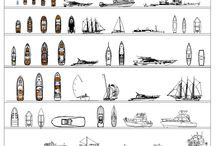 Boat Collection 1 / Download this FULL Collection of over 50 2D CAD Blocks of Boats in [elevation and plan view. This CAD drawing comprises speedboats, dingys, canoes, ships, sailing boats, yachts and many more .
