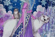 Zemlja snova / Zemlja snova coloring book - moje obrázky