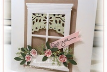 window cards / by Judy Kreucher