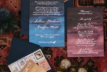 WEDDING INVITES: Under the Stars/Garden / by Chelsea Burkholder