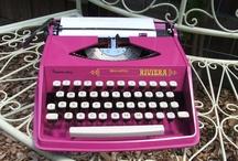 Colorful Typewriters