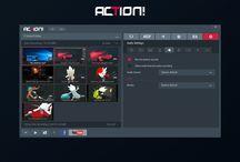 Mirillis Action! recorder screenshots