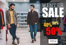 WINTER SALES Uomo - Carillo Moda / Saldi firmati Carillo Moda Boutique I migliori capi sartoriali Made in Italy a prezzi scontatissimi