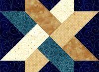 Star quilt blocks
