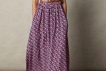 La mode en shweshwe / Le shweshwe dans les vêtements, un peu, beaucoup, énormément, passionnément !