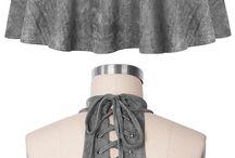 Vestido cinza lindoooooo