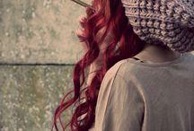 ♥ hair / hairstyles, hair diys, everything related to hair ツ