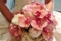 wedding Bouqet pink Bruidsboeket rose