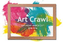 Art Crawl 2015 / The 4th Annual Art Crawl was on Saturday, March 21! Nineteen artists at 17 different businesses participated in the Art Crawl.   Photos courtesy of Barbara La Valleur.