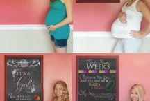 Pregnancy photos week by week