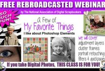 Free Photo Editing Classes! / These classes are free and are offered for a limited time only. Learn how to use Photoshop Elements the EASY way. These classes are step by step and so much fun! www.naods.com