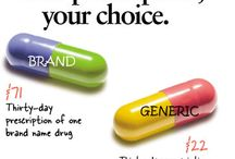 Generic Medicines / Generic medicines are as effective as Branded but the only difference is in pricing. One month dosage of a Branded medicine would cost you $300 whereas a Generic would cost you $50 with same results.