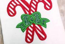 Christmas Appliqué Designs Embroidery Designs