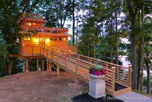 Frank Lloyd Wright treehouse