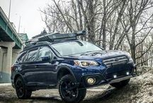 SUBARU Outback lift
