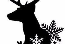 Karácsonyi sablon