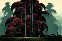 illustratori : eyvind earle