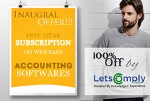 Offers / Letscomply presents Inaugural offers - free one year subscription on web base
