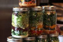 Mason Jars / Salads & Ideas
