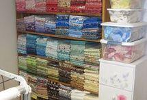 Organize quilt materials