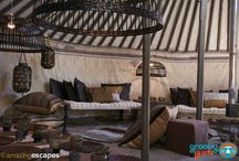 Designer Yurts in Bolivia / Special Project of Glamping in Bolivia