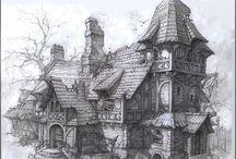 IdeaComic Places / Hello, I'm trying to gather images I could possibly use as inspiration for drawing specific places, buildings, streets enviroment, etc.
