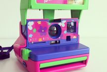 Polaroid Barbie / Check out our cameras at instantclick.co  POLAROID BARBIE SPECIAL EDITION  - Close-up feature allows you to shoot at a distance of 2-4ft - It also has FLASH and lighten/darken feature - This is a PERFECT camera to have FUN with, and especially as a Collector's Piece - No need to buy batteries for this camera, as the battery is BUILT-IN to each and every film pack