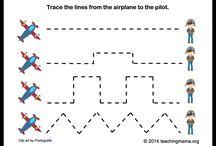 Preschool Theme: Airplanes